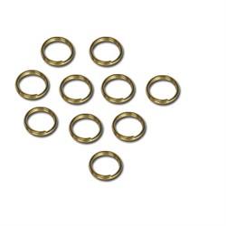 Кольцо для бус  5.5 мм ± 1 мм золото  (уп. 50 шт) - фото 100280