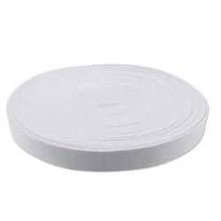 Лента эластичная 30 мм белая 1 м - фото 100396