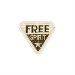 """Термонаклейка  """"Free spirit"""" 5.6х5.7 см 1 шт - фото 100504"""
