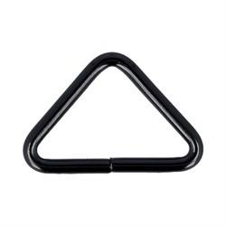 Рамка  металлическая треугольная 35 мм черный никель 1 шт. - фото 100579