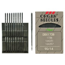 Иглы для промышленных швейных машин 'ORGAN'  №90 1 шт. - фото 38961