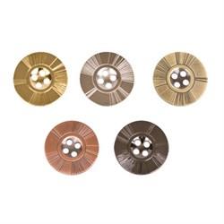 Пуговицы металлические   36 ' ( 23 мм)  1 шт - фото 39171