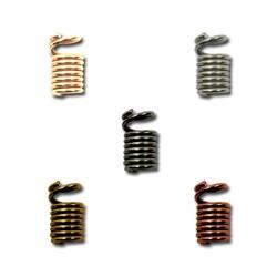 Концевик для бус 'пружина'   3.5 мм  5 шт - фото 43953