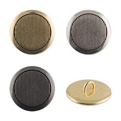 Пуговицы металлические  24 ' ( 15 мм)  1 шт - фото 48186