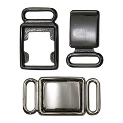 Застежки для бюстгальтеров 'BLITZ'   BBT039   металл   27 х  14 мм  1 шт - фото 48570