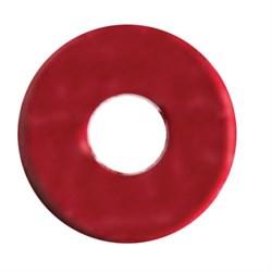 Пайетки россыпью 3 мм цвет: красный глянцевый 1 п. - фото 48898