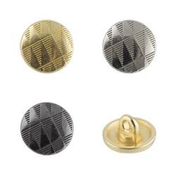 Пуговицы металлические    16 ' ( 10 мм)  1шт - фото 49117