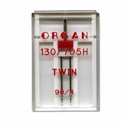 Игла 'ORGAN' двойная для БШМ 90/4 универсальная в пенале 1 шт. - фото 52878