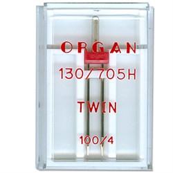 Игла 'ORGAN' двойная для БШМ 100/4 универсальная в пенале 1 шт. - фото 54124