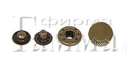 Кнопки металлические  d 20 мм  1 компл - фото 54498