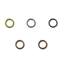 Кольцо для бус  5 мм никель (уп. 50 шт) - фото 55464