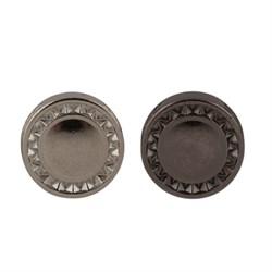 Пуговицы металлические     16 ' ( 10 мм)  1шт - фото 55995