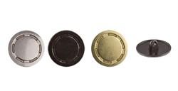 Пуговицы металлические   27 ' ( 17 мм)  1 шт - фото 56178