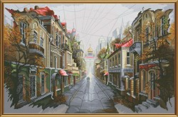 """""""Город для двоих""""   40 х 26 см  'Нова Слобода' - фото 56792"""