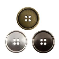 Пуговицы металлические   24 ' ( 15 мм)   1 шт - фото 58776