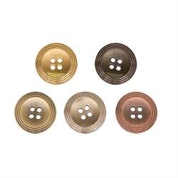 Пуговицы металлические 40 ' ( 25 мм)  1 шт  - фото 59479