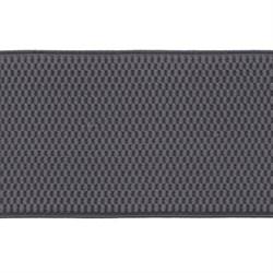 Лента эластичная 70 мм  сераяя 1м - фото 59954