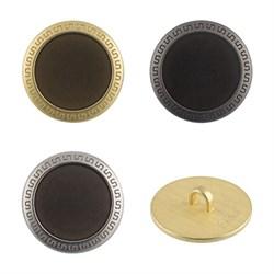 Пуговицы металлические  24 ' ( 15 мм)  1шт - фото 60993