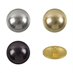 Пуговицы металлические    24 ' ( 15 мм)  1 шт - фото 61588