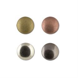 Пуговицы металлические   16 ' ( 10 мм)  1 шт - фото 61995