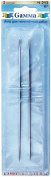 Иглы для переплетных  работ 15 см   (уп. 2 шт.) - фото 62388