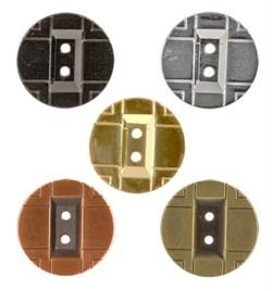 Пуговицы металлические 24 ' ( 15 мм)  1шт  - фото 62570
