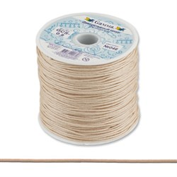 Шнур для плетения 0.8 мм  бежевый  5 м  - фото 62854