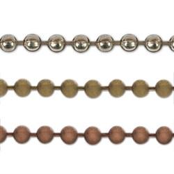 Цепочка декоративная   'Micron'   3.2 мм  1м  - фото 63706