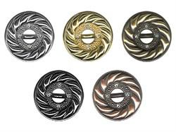 Пуговицы металлические    36 ' ( 23 мм)  1 шт   - фото 64001