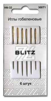 Иглы для шитья ручные  блистер   6 шт. - фото 64154