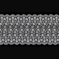 Гипюр 145 мм белый 1 м - фото 64182