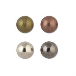 Пуговицы металлические    13 ' ( 8 мм)  1 шт - фото 64379