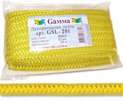 Тесьма декоративная  'Самбоса'   GSL-201   13мм  1 м - фото 64653