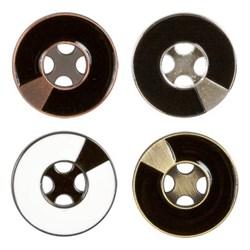 Пуговицы металлические    44 ' ( 28 мм)  1 шт   - фото 64849
