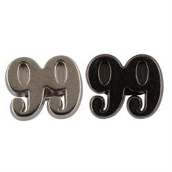 Пуговицы металлические   16 ' ( 10.4 мм)  1шт - фото 65332