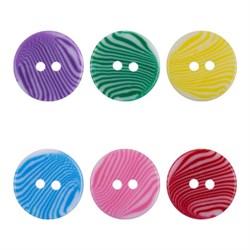 Пуговицы детские 'GAMMA' AY 9971   24 ' ( 15 мм)  1 шт - фото 65883