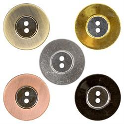 Пуговицы металлические  36 ' ( 23 мм)  1 шт - фото 66676