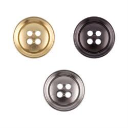 Пуговицы металлические   24 ' ( 15 мм)  1 шт - фото 67352