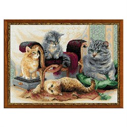 'Кошачье семейство'  'RIOLIS'  1327 - фото 68875