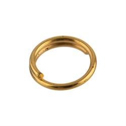 Кольцо для бус 5 мм золото  (уп. 50 шт) - фото 69286