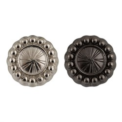 Пуговицы металлические    20 ' ( 12 мм)  1 шт - фото 69392