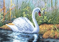 'Белый лебедь' 28,5 x 20 см 'PANNA'  - фото 70505