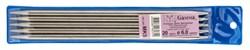 """Спицы 5-ти комплектные металлические """"Gamma"""" d 6.0 мм  20 см - фото 71828"""