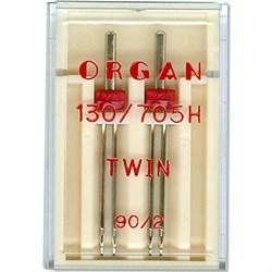Игла 'ORGAN' двойная для БШМ универсальная 90/2 1 шт.   - фото 73641