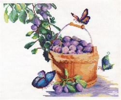 'Сливы с бабочками' 'PANNA' Н-1200 - фото 74234
