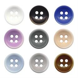 Пуговицы рубашечные/блузочные  DX 0002   16 ' ( 10 мм) 1шт - фото 75263