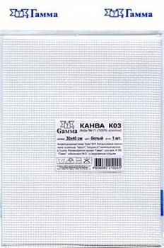 Канва Aida 11 белая 30х40 см  1 шт - фото 75939