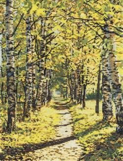 'Осеннее солнышко'  'PANNA' ПС-1843 - фото 76578