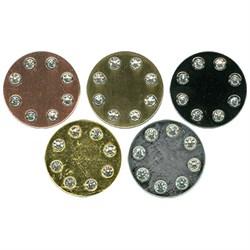 Пуговицы металлические MB 0076   27 ' ( 17 мм)  1 шт - фото 76810