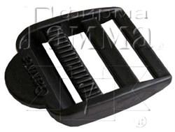 Пряжка регулировочная черная 32 мм 1 шт. - фото 78320